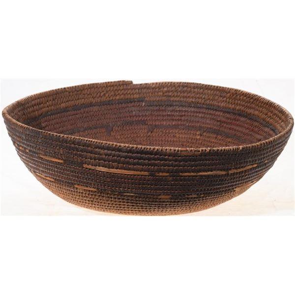 Antique Southwest Basket & Beaded Belt