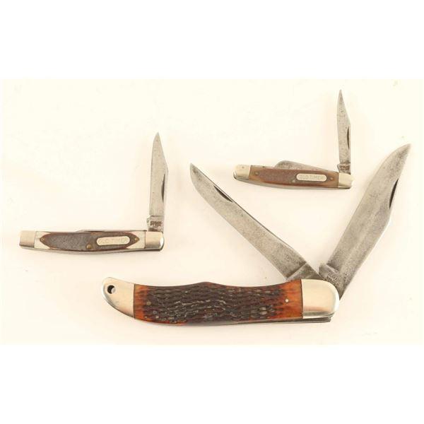 Lot of (3) Knives