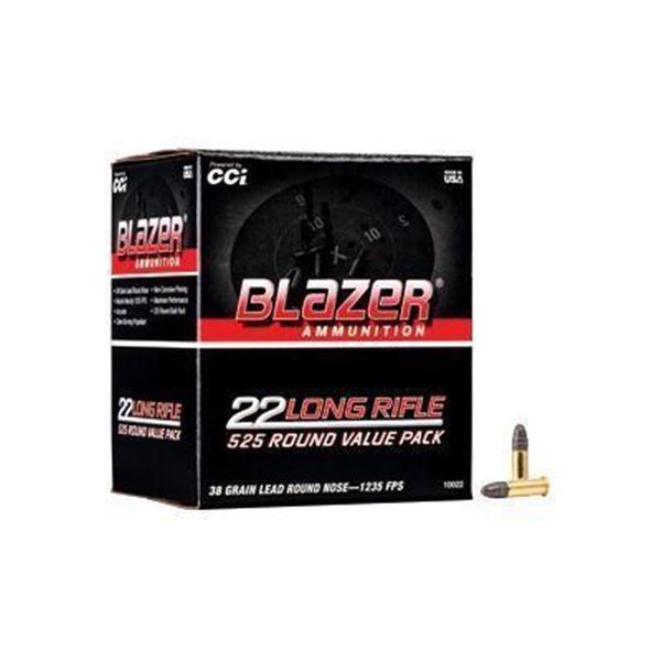 BLAZER 22LR 38GR 525CT BX - 525 Rds