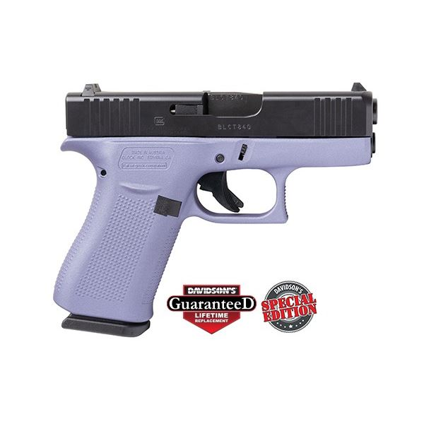 GLK 43X 9MM 10RD ORC Crushed Orchid