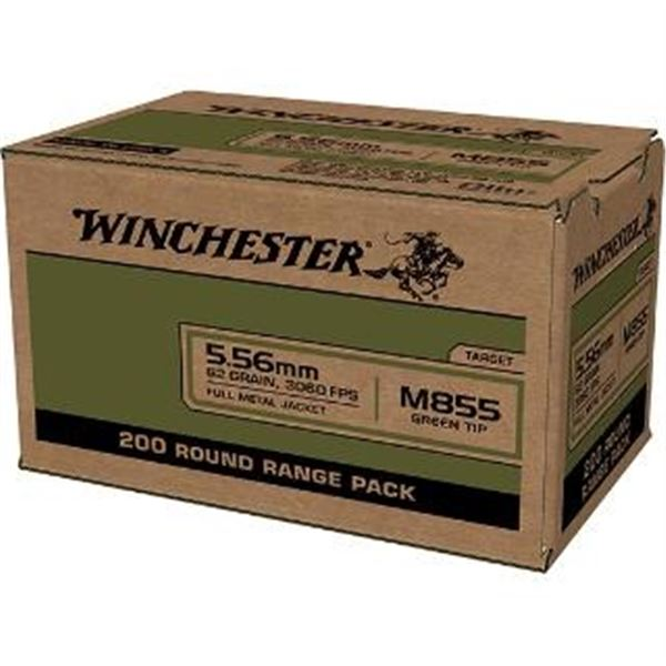 WIN LC 5.56MM M855 62GR FMJ - 200 Rds