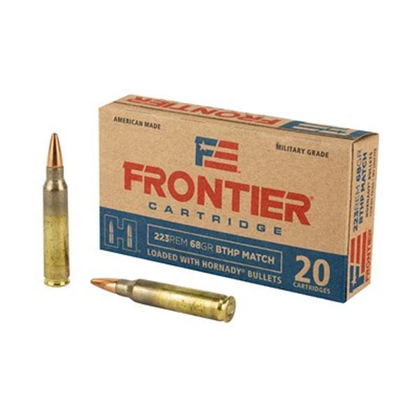 FRONTIER 223REM 68GR BTHP MTCH - 20 Rds