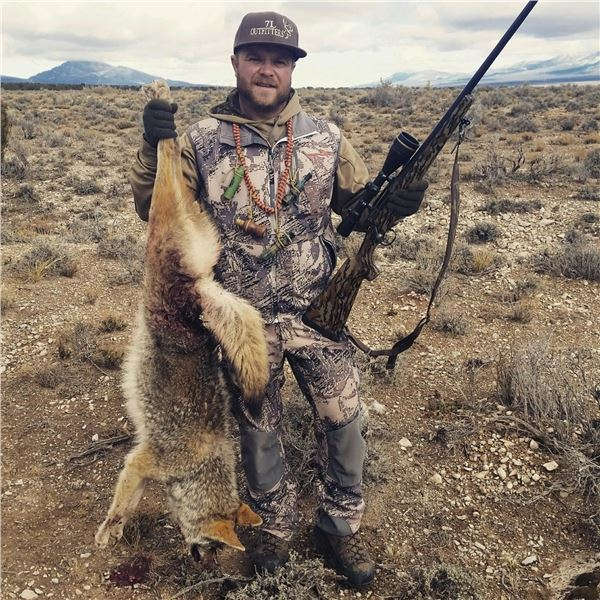 2 ½ day Varmint Hunt for 2 in Nevada