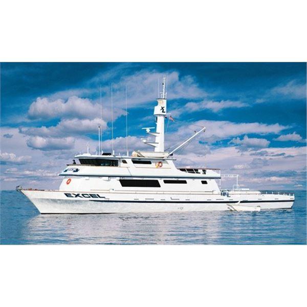 3-Day Sportfishing for 2 Aboard the EXCEL Long-Range Sportfishing Vessel
