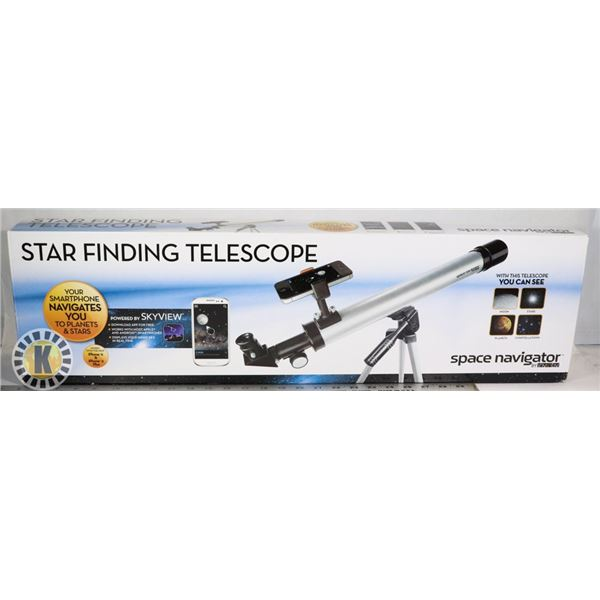 STAR FINDING TELESCOPE 50 MM HIGH QUALITY GLASS