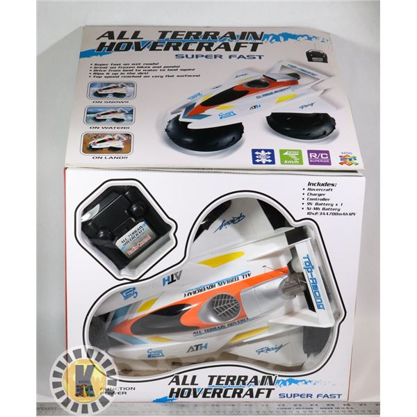ALL TERRAIN HOVERCRAFT RADIO CONTROL