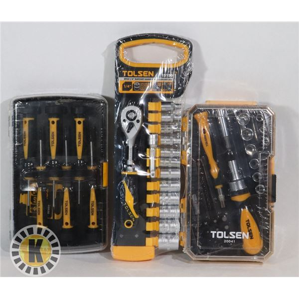 NEW TOLSEN ITEMS 6 PC PRECISION