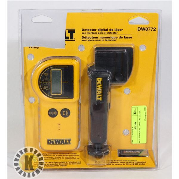 SEALED DEWALT DIGITAL LASER