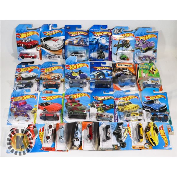SEALED 20 HOTWHEELS CARS 2004,2005