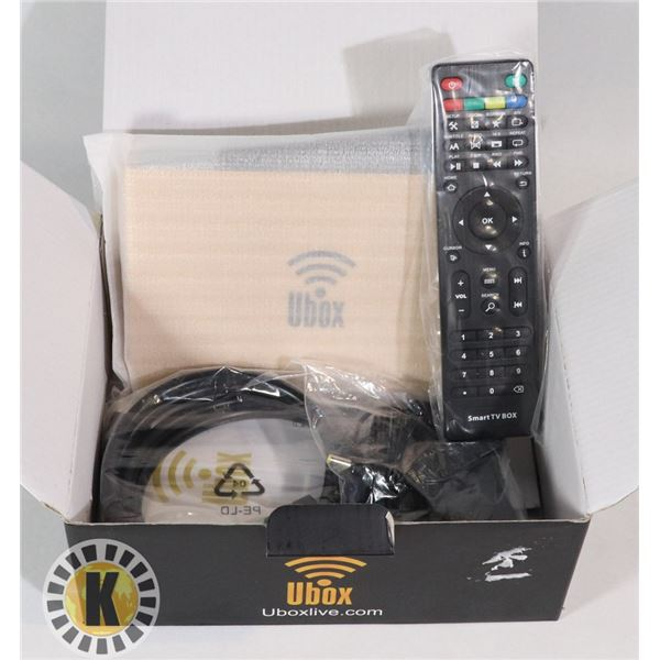 NEW UBOXLIVE CABLE BOX