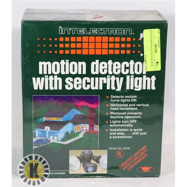 SEALED MOTION DETECTOR WITH