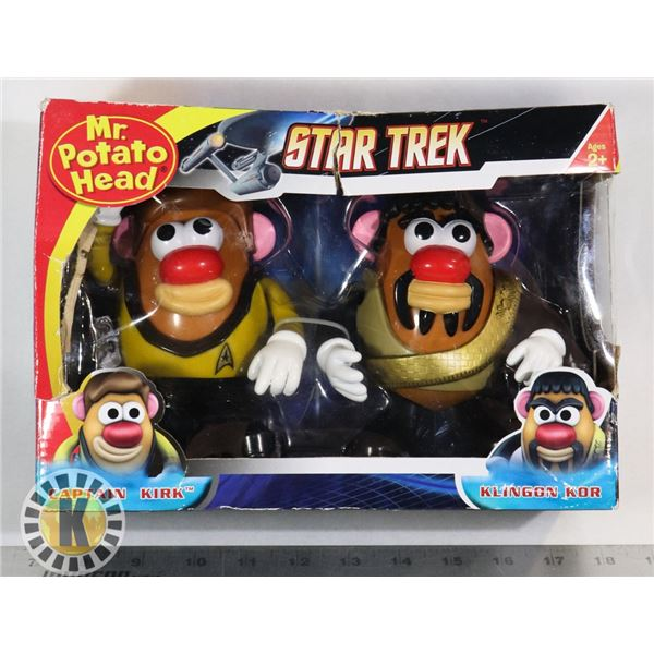 MR. POTATO HEAD STAR TREK CAPTAIN KIRK AND KLINGON
