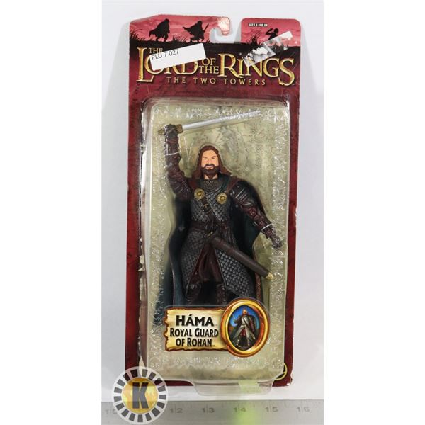 TOYBIZ LORD OF THE RINGS TWO TOWERS