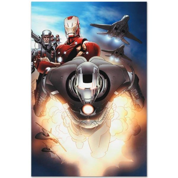"Marvel Comics ""Iron Man 2.0 #7"" Numbered Limited Edition Giclee on Canvas by Sal"