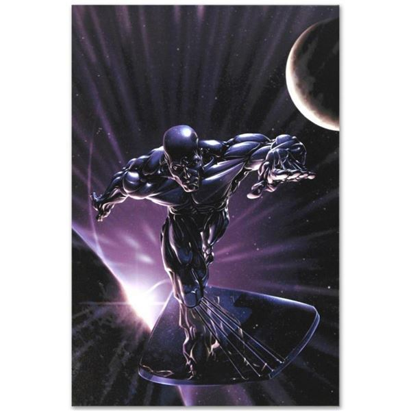 "Marvel Comics ""Silver Surfer #10"" Numbered Limited Edition Giclee on Canvas by C"
