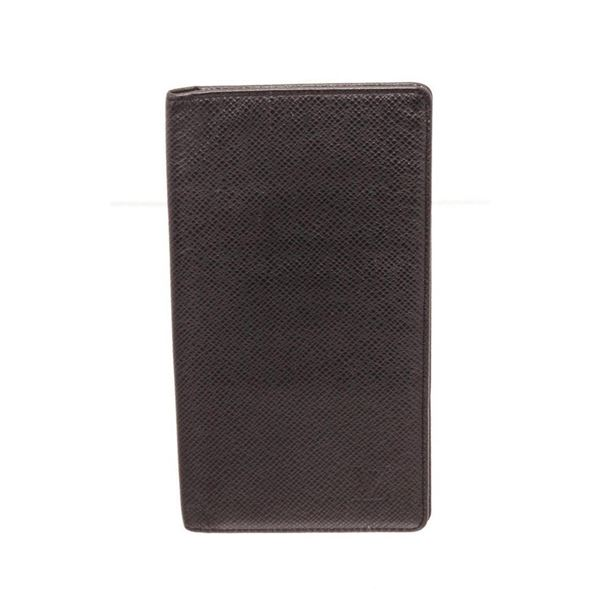 Louis Vuitton Black Monogram Long Card Wallet