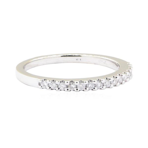 0.15 ctw Diamond Ring - 18KT White Gold