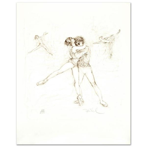 """Pas de Deux"" Limited Edition Lithograph by Edna Hibel (1917-2014), Numbered and"