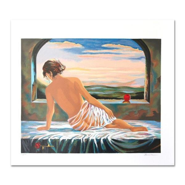 "Alexander Borewko, ""Sweet Morning"" Hand Signed Limited Edition Serigraph with Le"
