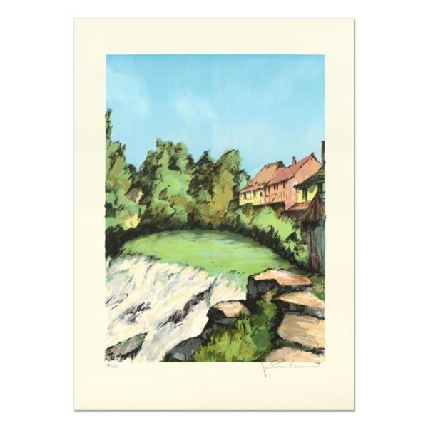 "Laurant, ""St. Tropez"" Limited Edition Lithograph, Numbered and Hand Signed."
