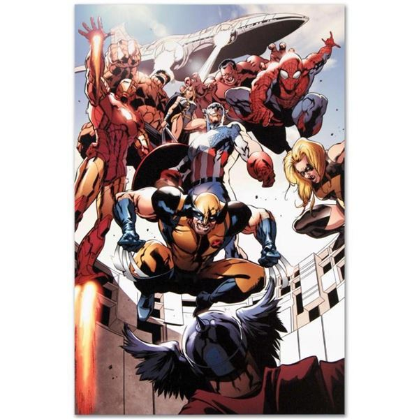 "Marvel Comics ""Annihilators: Earthfall #1"" Numbered Limited Edition Giclee on Ca"