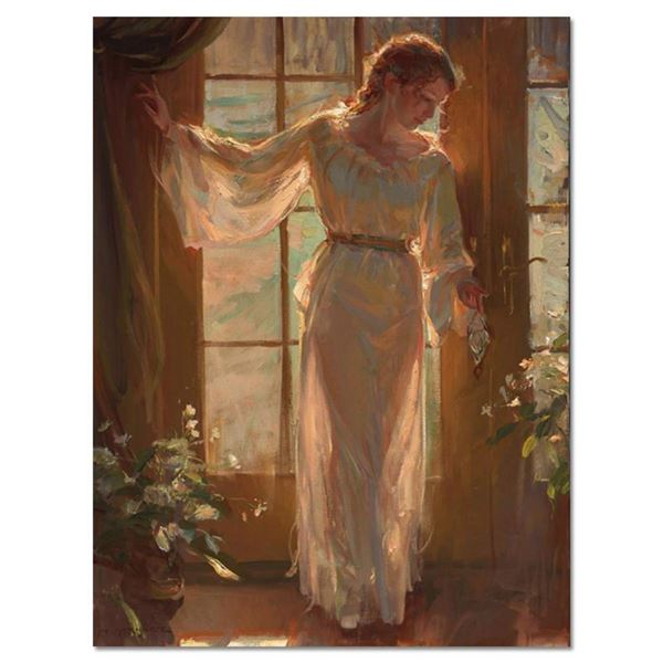 "Dan Gerhartz, ""Winter Garden"" Limited Edition on Canvas, Numbered and Hand Signe"