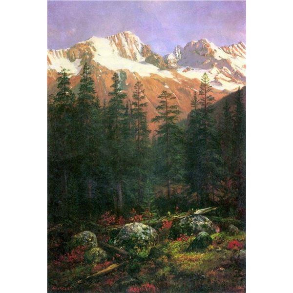 Canadian Rockies by Albert Bierstadt