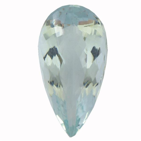 5.41 ctw Pear Aquamarine Parcel
