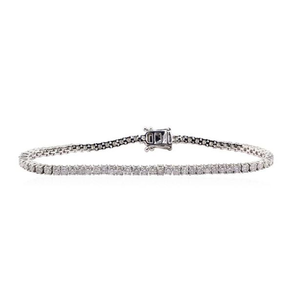 4.76 ctw Diamond Bracelet - 14KT White Gold
