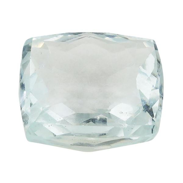 8.58 ct.Natural Cushion Cut Aquamarine