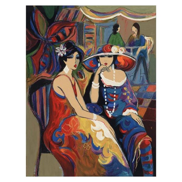 "Isaac Maimon, ""Friendship"" Limited Edition Serigraph, Numbered and Hand Signed w"