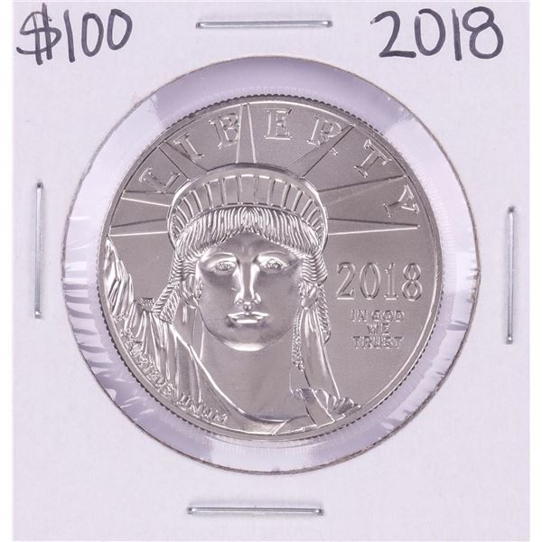 2018 $100 Platinum American Eagle Coin