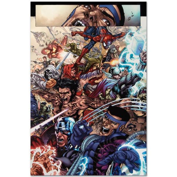 "Marvel Comics ""Avengers: The Initiative #19"" Limited Edition Giclee"