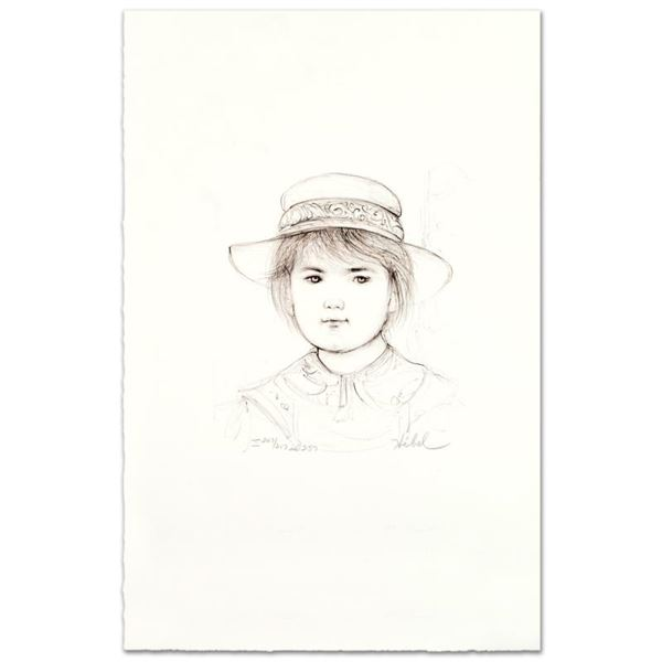 "Edna Hibel (1917-2014) ""Kirk"" Limited Edition Lithograph"