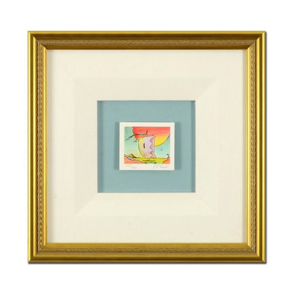 "Peter Max ""Sailboat Series IV"" Limited Edition Lithograph on Paper"