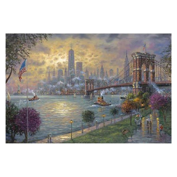 "Robert Finale ""New York Memories"" Limited Edition Giclee on Canvas"