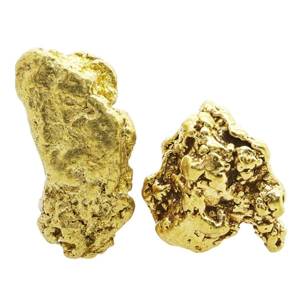 Lot of Gold Nuggets 6.35 Grams Total Weight
