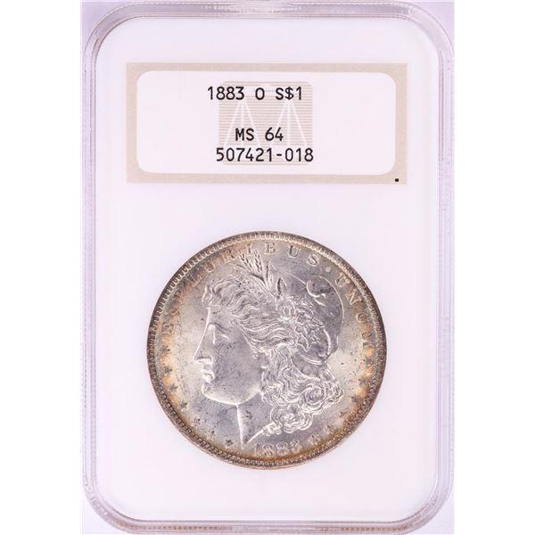1883-O $1 Morgan Silver Dollar Coin NGC MS64 Old Holder