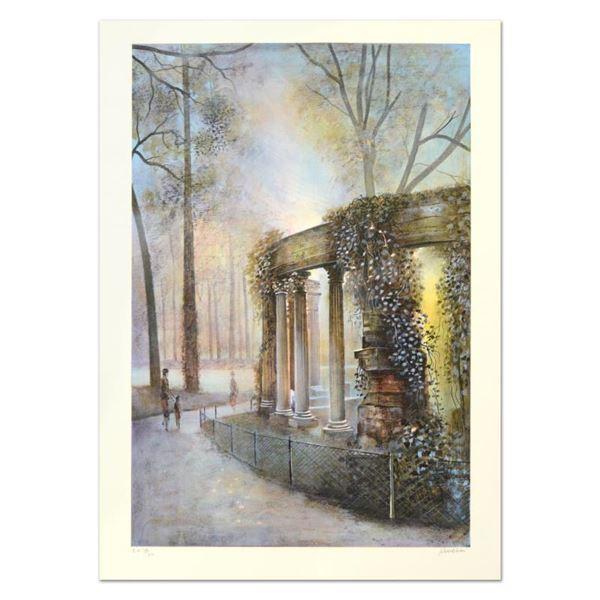 """Antonio Rivera """"Luxembourg"""" Limited Edition Lithograph"""