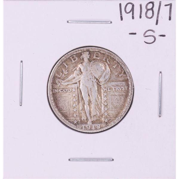 1918/7-S Standing Liberty Quarter Coin