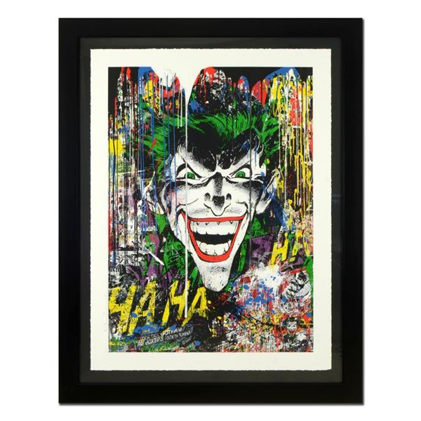 "Mr. Brainwash ""Joker"" Limited Edition Serigraph on Paper in Frame"