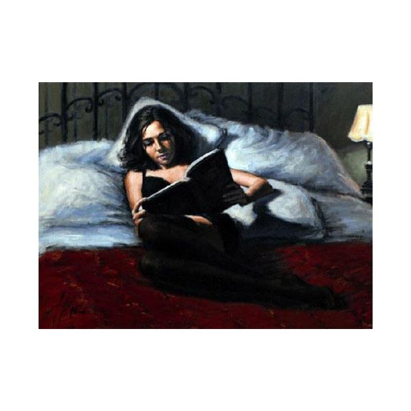 """Fabian Perez """"Princess Diaries II"""" Limited Edition Giclee on Canvas"""
