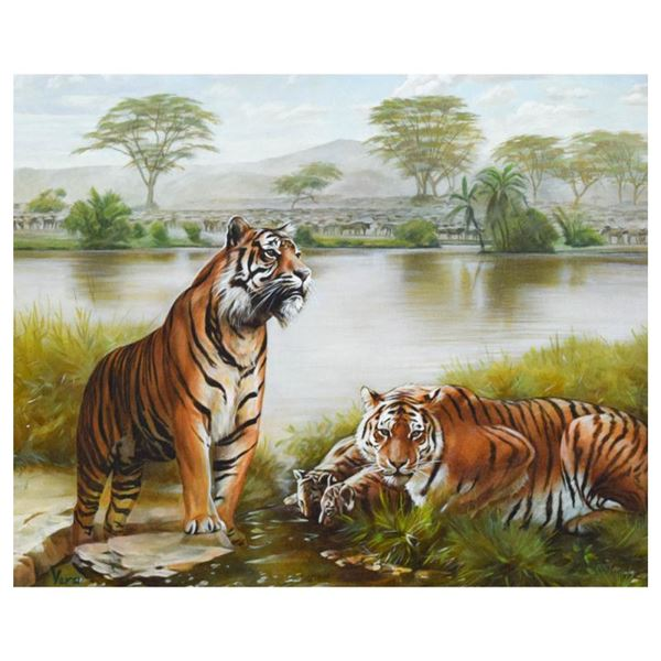 """Vera Goncharenko """"Family Time"""" Limited Edition Giclee"""