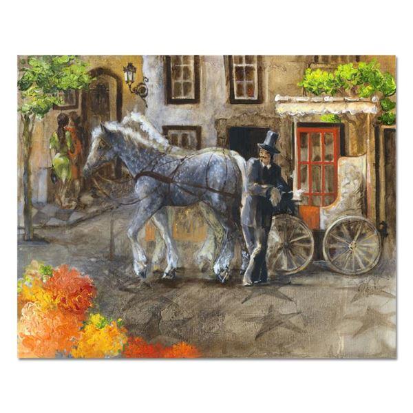 "Sotskova ""Town in Bloom"" Original Oil on Canvas"