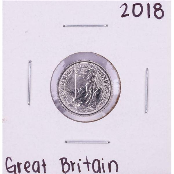 2018 Great Britain 10 Pounds 1/10 oz Platinum Coin