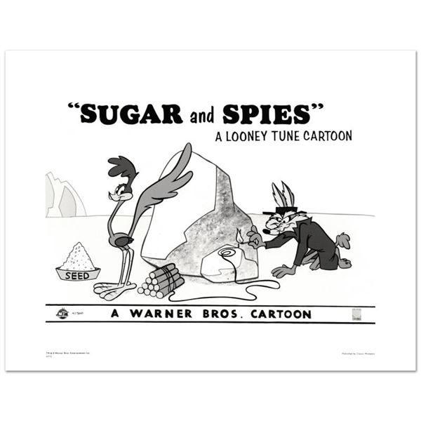 """Looney Tunes """"Sugar and Spies"""" Limited Edition Giclee"""