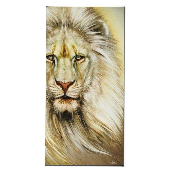 """Martin Katon """"White Lion"""" Limited Edition Giclee"""