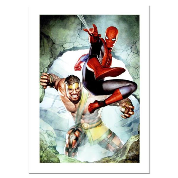 """Stan Lee - Marvel Comics """"Assault New Olympus Prologue #1"""" Limited Edition Giclee"""