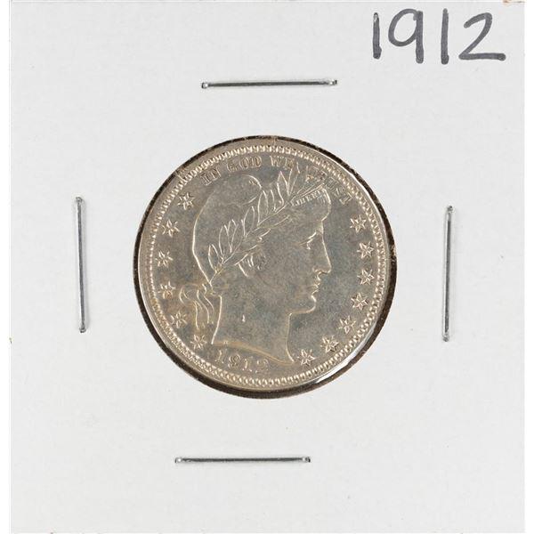 1912 Barber Quarter Coin