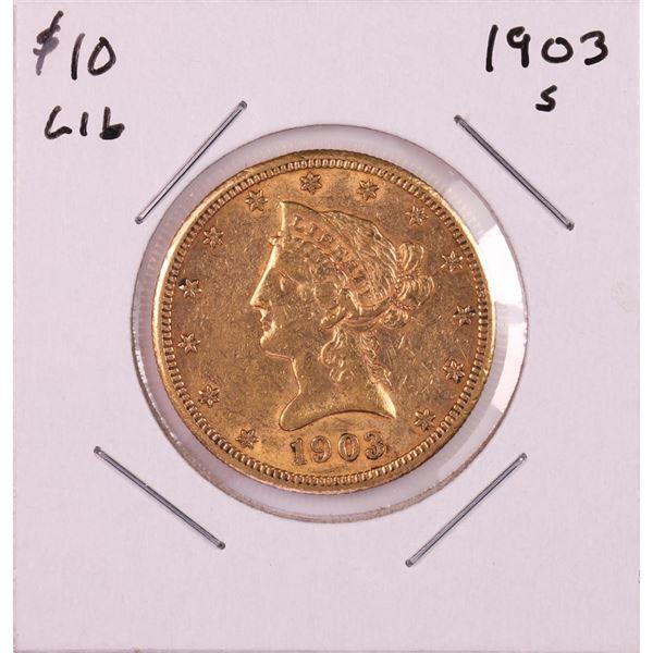 1903-S $10 Liberty Head Eagle Gold Coin